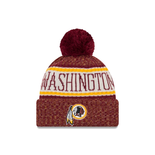 Washington Redskins Nfl Cold Weather 2018  Knit | Washington Redskins Caps | New Era Cap