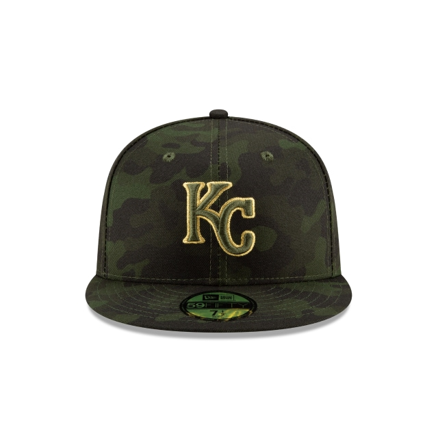 Kansas City Royals Mlb Armed Forces Day 2019  59fifty Cerrada | Kansas City Royals Caps | New Era Cap