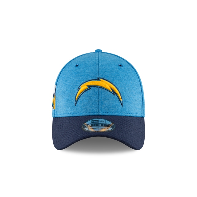 Los Angeles Chargers Nfl Sideline Defend 2018  39thirty Elástica | Los Angeles Chargers Caps | New Era Cap