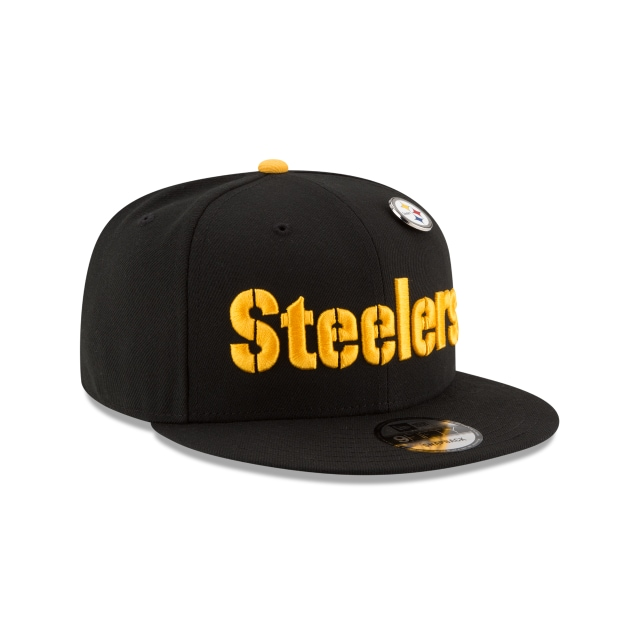 Pittsburgh Steelers Pinned Snap  9fifty Snapback | Pittsburgh Steelers Caps | New Era Cap