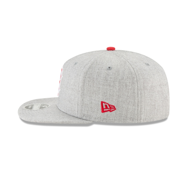 Boston Red Sox Heather Hype Snap  9fifty Of Snapback | Boston Red Sox Caps | New Era Cap