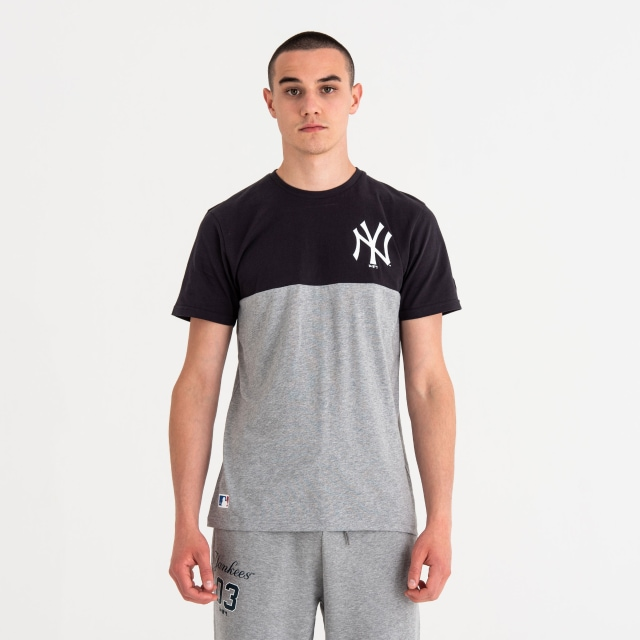 New York Yankees Colour Block  Playera Manga Corta | New Era Cap