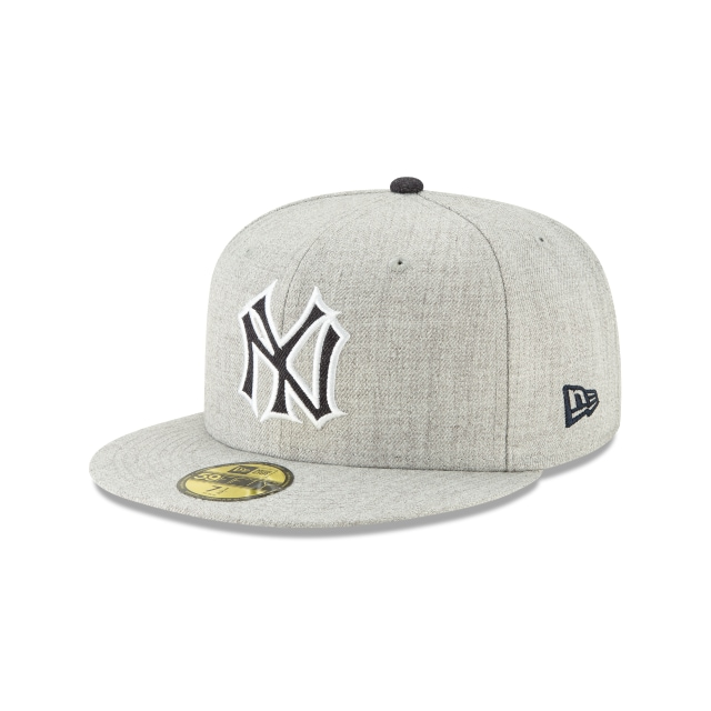 Gorra De New York Yankees Heather Hype  59fifty Cerrada | New Era Cap