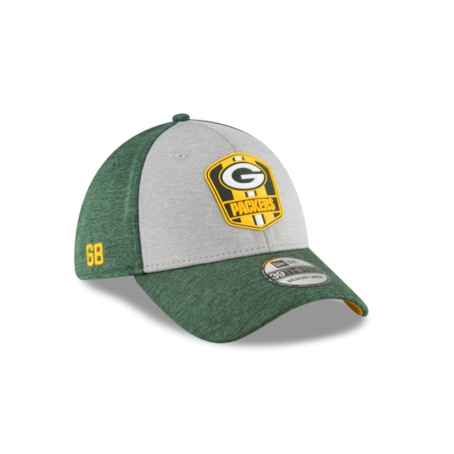 Green Bay Packers Nfl Sideline Attack 39thirty Elástica | Green Bay Packers Caps | New Era Cap