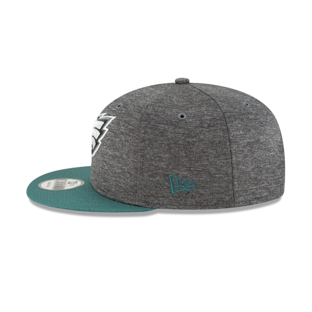 Philadelphia Eagles Nfl Sideline Defend 2018 9fifty Snapback | Philadelphia Eagles Caps | New Era Cap