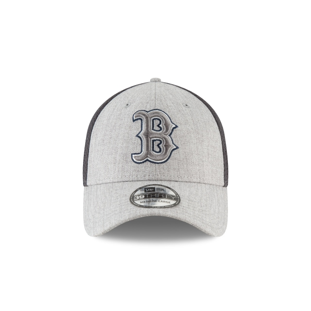 Boston Red Sox Heathered Neo  39thirty Elástica | Boston Red Sox Caps | New Era Cap