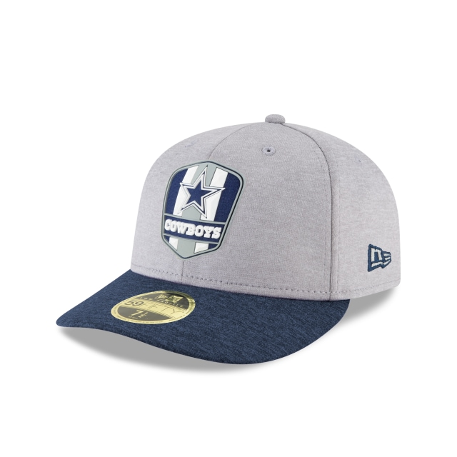 Dallas Cowboys NFL Sideline Attack 59FIFTY LP Cerrada | Gorras de Dallas Cowboys | New Era México