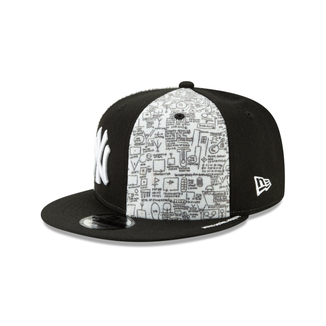 New York Yankees Jean Michel Basquiat  9fifty Snapback | New York Yankees Caps | New Era Cap