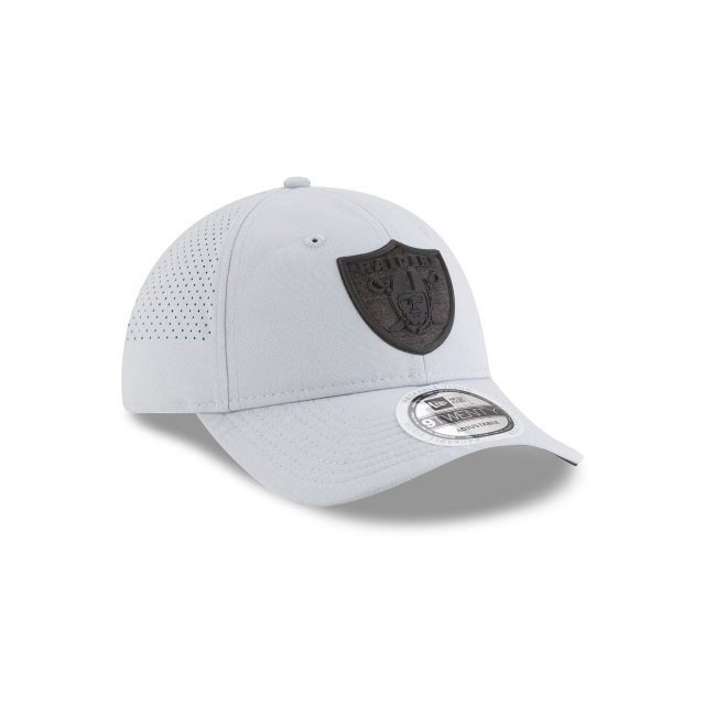 Las Vegas Raiders NFL Training 2018  9TWENTY Strapback | Gorras de Las Vegas Raiders | New Era México
