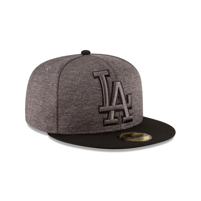 Los Angeles Dodgers Heather Huge Fit  59fifty Cerrada | Los Angeles Dodgers Caps | New Era Cap