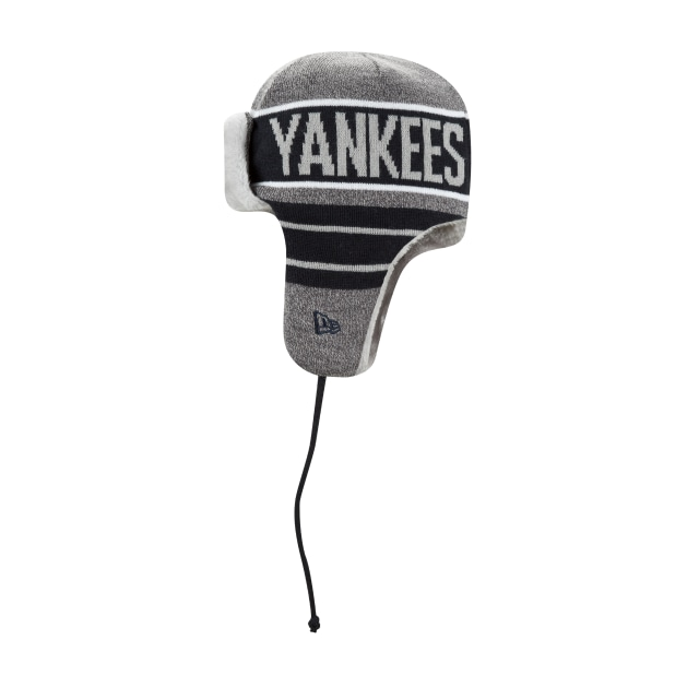 New York Yankees Frosty Trapper  Knit | New York Yankees Caps | New Era Cap