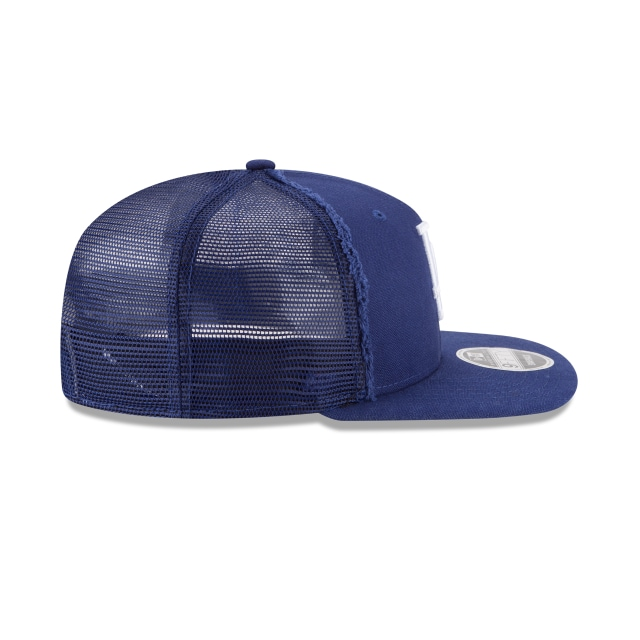 Los Angeles Dodgers Trucker Worn  9fifty Of Trucker Snapback | Los Angeles Dodgers Caps | New Era Cap