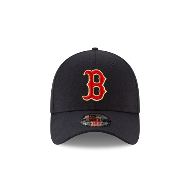Gorra De Boston Red Sox Gold Collection  39thirty Elástica | Boston Red Sox Caps | New Era Cap