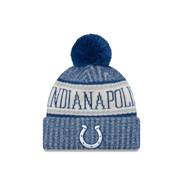 Indianapolis Colts Nfl Cold Weather 2018 Niño Knit | Indianapolis Colts Caps | New Era Cap