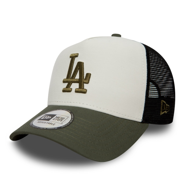 Los Angeles Dodgers Nylon Packable  9forty Af Trucker Strapback | Los Angeles Dodgers Caps | New Era Cap