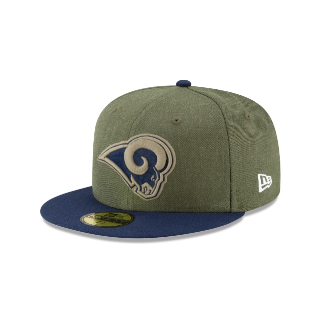 Los Angeles Rams Nfl Salute To Service 2018  59fifty Cerrada | New Era Cap