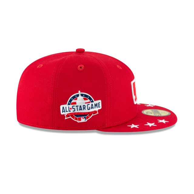 Mlb Logo Mlb All-star Game 2018  59fifty Cerrada | Work18 Umpire Patch Caps | New Era Cap