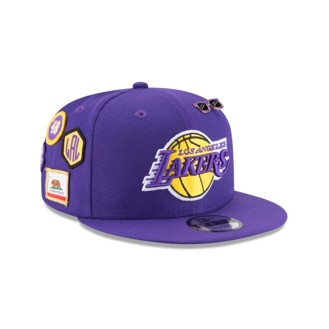 Los Angeles Lakers Nba Draft 2018 9fifty Snapback | La Lakers Caps | New Era Cap