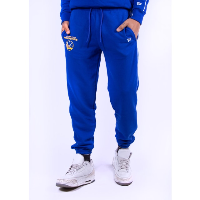 Golden State Warriors Stripe Piping  Pantalón | Golden State Warriors Stripe Piping | New Era México