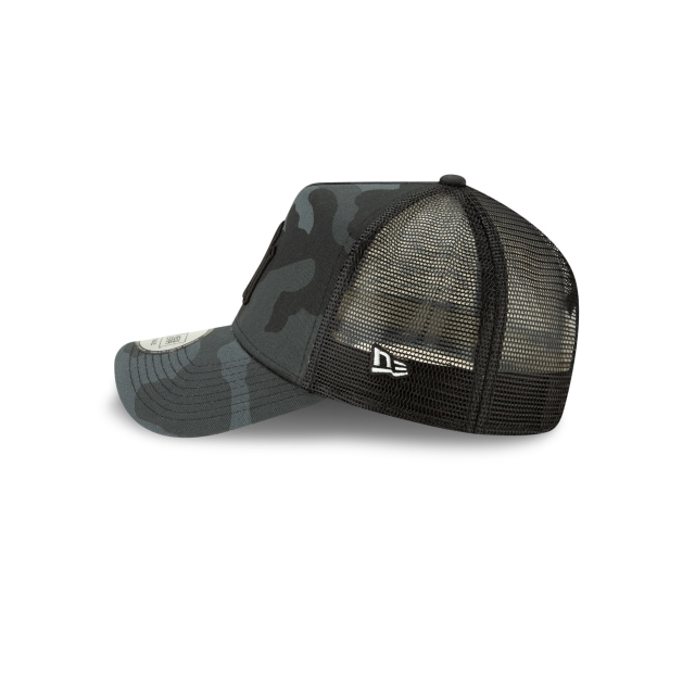 New York Yankees Camo Essential  9forty Af Trucker Strapback | Camo Essential Truck Caps | New Era Cap