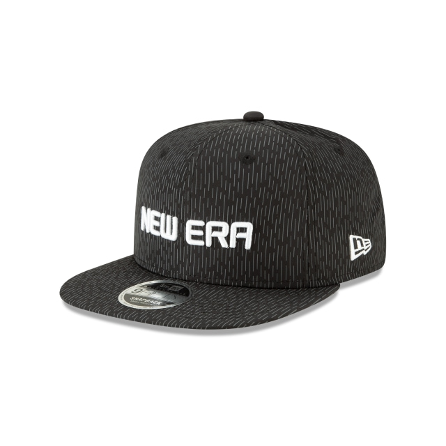 New Era Rain Camo Negro Y Blanco 9fifty Of Snapback | New Era Cap