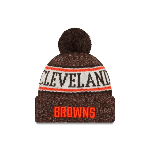 Cleveland Browns Nfl Cold Weather 2018  Knit | Cleveland Browns Caps | New Era Cap