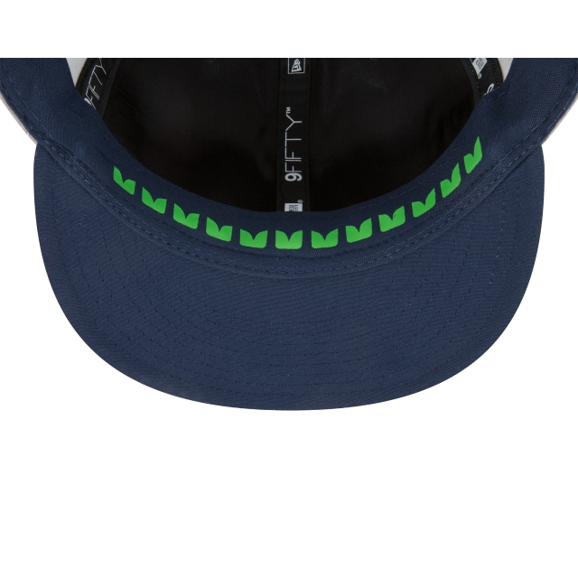 Seattle Seahawks Draft NFL 2018 9FIFTY Snapback | Gorras de Seattle Seahawks | New Era México