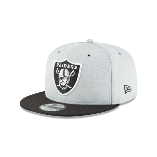 Oakland Raiders Nfl Sideline Defend 2018 9fifty Snapback | Oakland Raiders Caps | New Era Cap