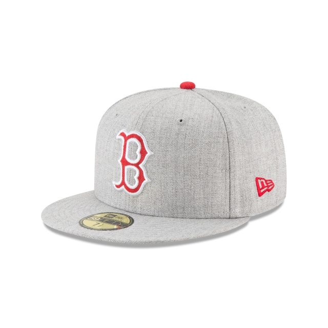 Gorra De Boston Red Sox Heather Hype  59fifty Cerrada | New Era Cap