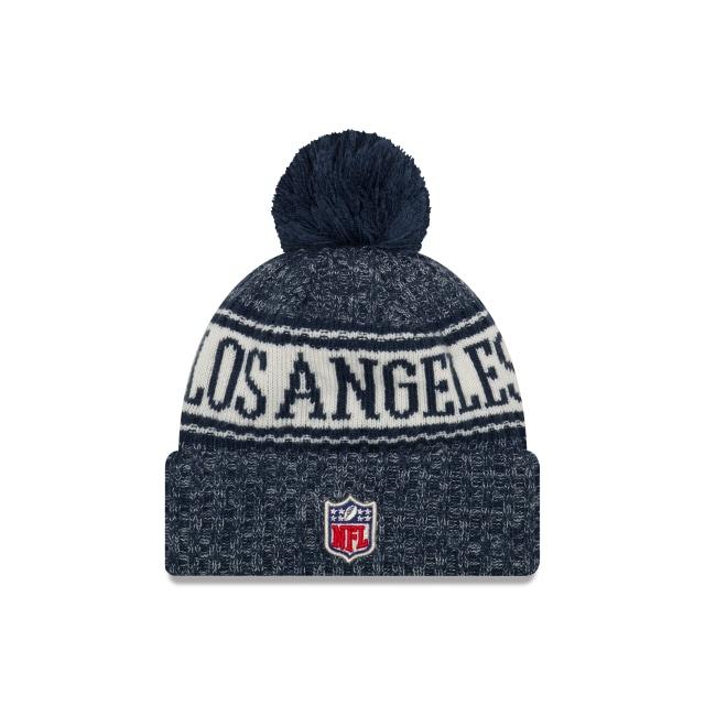 Los Angeles Rams Nfl Cold Weather 2018  Knit | Los Angeles Rams Caps | New Era Cap
