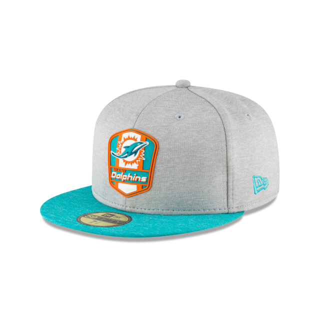 Miami Dolphins Nfl Sideline Attack 59fifty Cerrada | New Era Cap