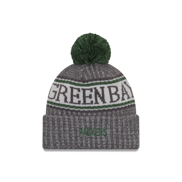 Green Bay Packers Nfl Cold Weather 2018  Knit | Green Bay Packers Caps | New Era Cap