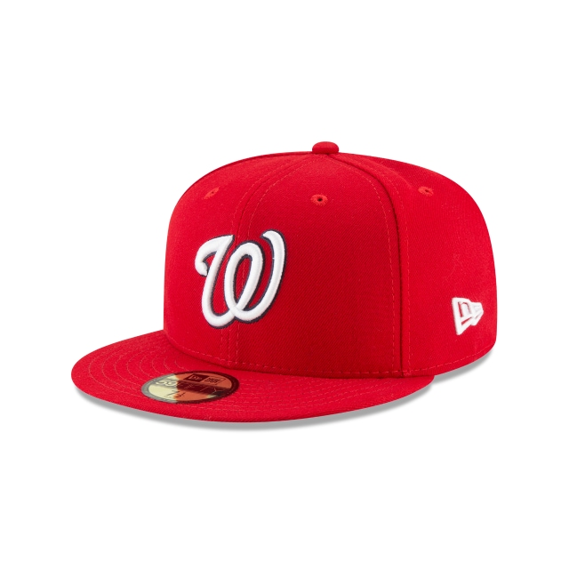 Gorra De Washington Nationals Authentic Collection  59fifty Cerrada | New Era Cap