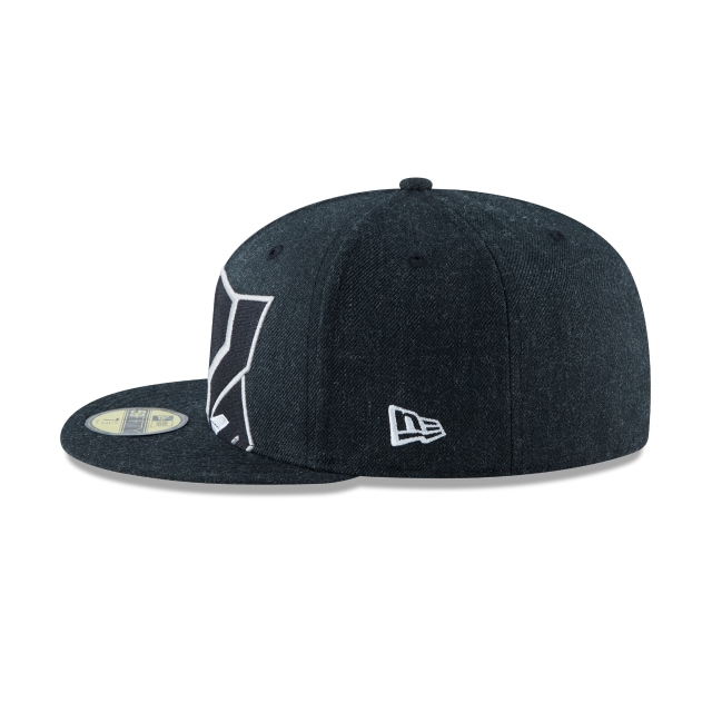 Black Panther Logo Flipped 59FIFTY Cerrada | Gorras Logo Flipped | New Era México