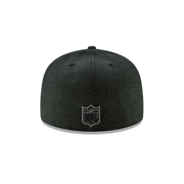 Oakland Raiders Twisted Frame  59fifty Cerrada | Oakland Raiders Caps | New Era Cap
