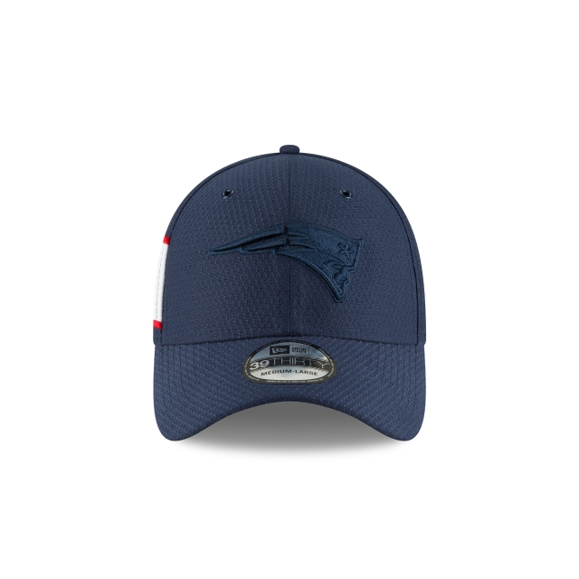 New England Patriots Nfl Color Rush 2018 39thirty Elástica | New England Patriots Caps | New Era Cap