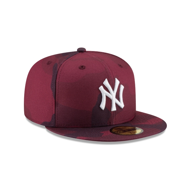 New York Yankees Essential Camo 59fifty Cerrada | New York Yankees Caps | New Era Cap