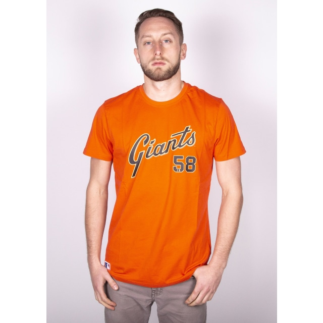 San Francisco Giants Team Script Playera Manga Corta | San Francisco Giants Caps | New Era Cap