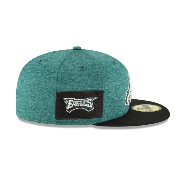 Philadelphia Eagles Nfl Sideline Defend 2018  59fifty Cerrada | Philadelphia Eagles Caps | New Era Cap