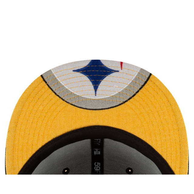 Gorra De Pittsburgh Steelers Logo Flipped  59fifty Cerrada | Pittsburgh Steelers Caps | New Era Cap