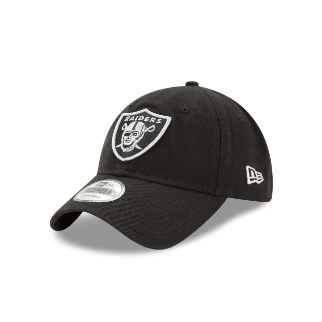 Oakland Raiders Core Classic  9twenty Strapback | New Era Cap