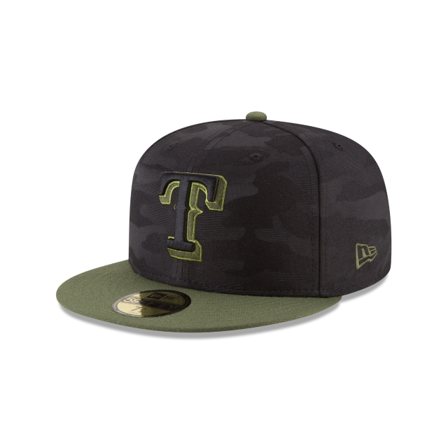 Texas Rangers Memorial Day  59fifty Cerrada | New Era Cap