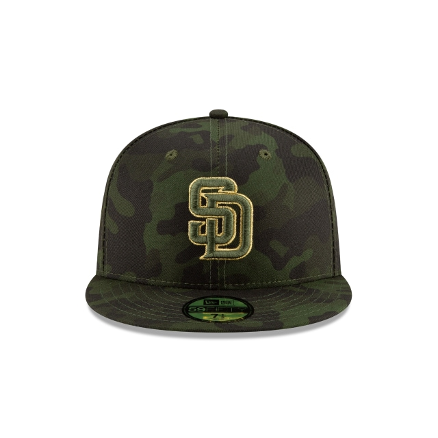 San Diego Padres Mlb Armed Forces Day 2019  59fifty Cerrada | San Diego Padres Caps | New Era Cap