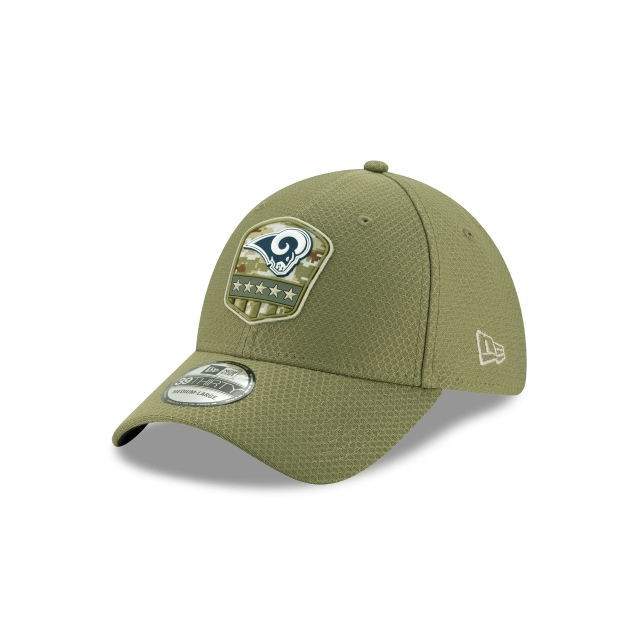 Los Angeles Rams NFL Salute To Service 2019  39THIRTY Elástica | Gorras de Los Angeles Rams | New Era México