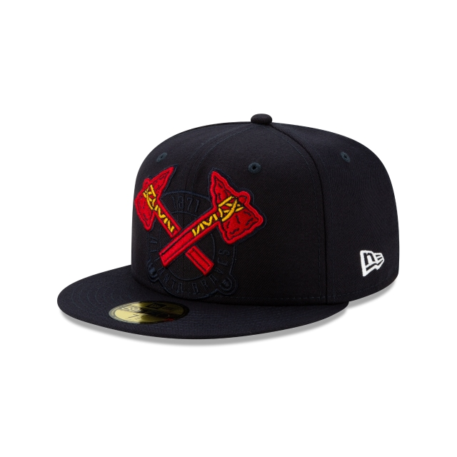Atlanta Braves Mlb Logo Elements  59fifty Cerrada | New Era Cap