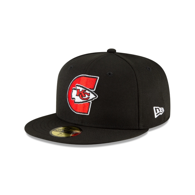 Kansas City Chiefs NFL Logo Mix  59FIFTY Cerrada | Gorras de Kansas City Chiefs | New Era México