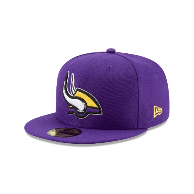 Minnesota Vikings NFL Logo Elements 1.0  59FIFTY Cerrada | Gorras de Minnesota Vikings | New Era México