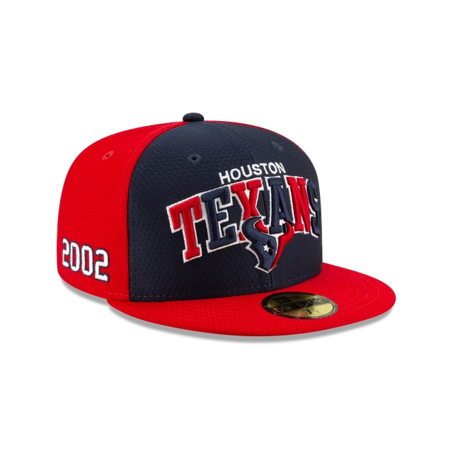 Houston Texans Nfl Sideline Established Home  59fifty Cerrada | New Era Cap