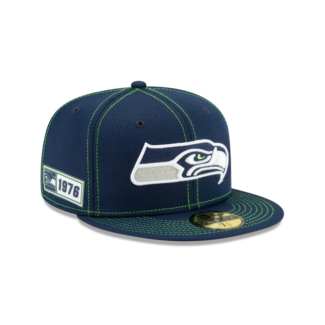 Seattle Seahawks NFL Sideline Established Road  59FIFTY Cerrada | Gorras de Seattle Seahawks | New Era México