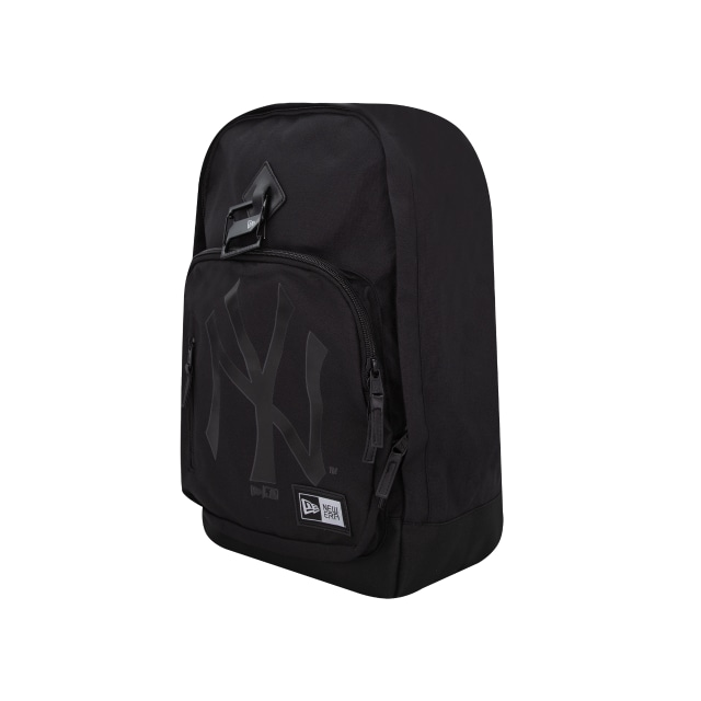 New York Yankees Black On Black  Backpack | New Era Cap